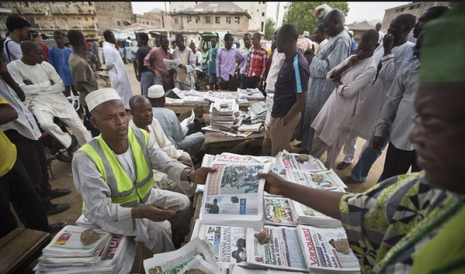 Img : Nigeria: Press highlights shortage of oxygen in public hospitals, others